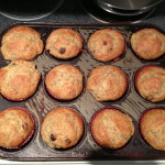 Muffins - three are now missing.